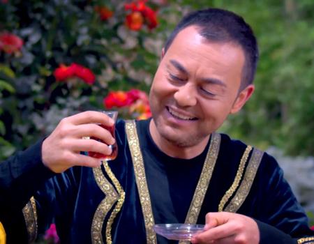 Serdar Ortaç Azeri çay markasının reklam yüzü oldu