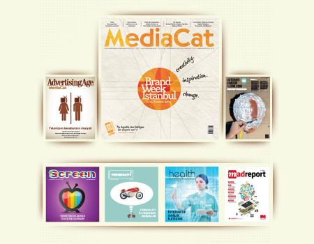 Ustaların favori reklamları MediaCat'in iPad sayısında