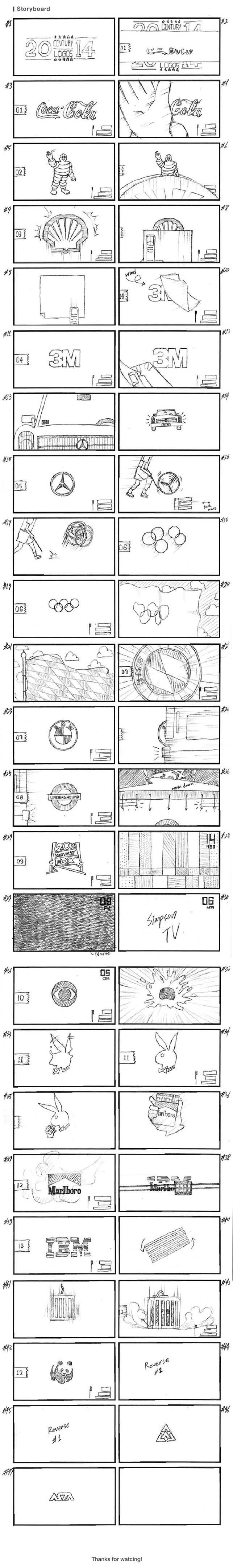 20'in yüzyılın akılda kalıcılığı en yüksek 14 logosu