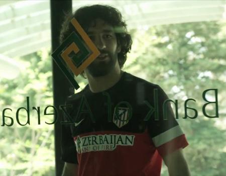 Arda Turan Bank of Azerbaijan'ın reklam filminde rol aldı.