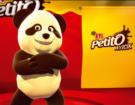 ETİ Petito Ayıcık bu kez yeni şekliyle tüketici karşısına çıkıyor
