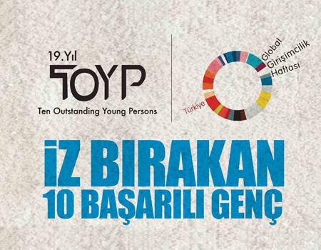 JCI Türkiye, Türkiye'nin '10 Başarılı Genci'ni bulmak için TOYP projesini 19'uncu kez hayata geçirdi.