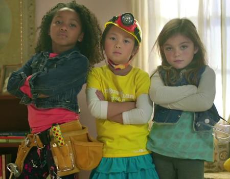 Kız çocuklarına yönelik 'mühendislik kiti' GoldieBox, ilk reklam filmini yayınladı.
