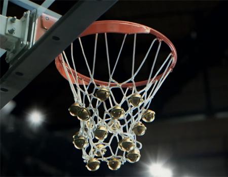 Ünlü basketbolculardan çok özel Noel melodisi.