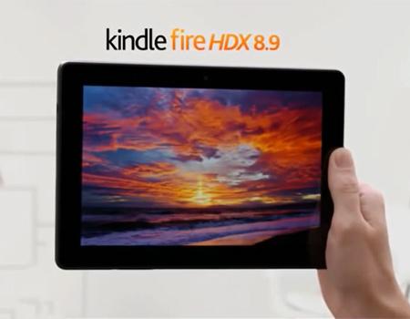 Karşılaştırmalı reklam Kindle ve iPad Air'i çarpıştırıyor.