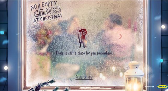 Ikea'dan Noel'de yalnız kalanları buluşturan uygulama