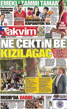 Takvim Gazetesi - Ağaçla röportaj
