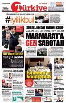 Türkiye Gazetesi - İyilik bul