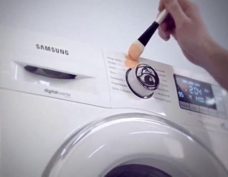 Samsung çamaşır makinesini sanatla buluşturuyor: Yıka & Yarat