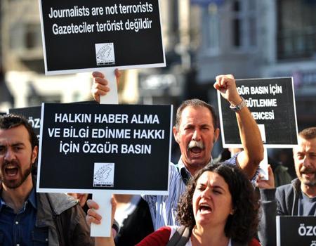 CPJ raporuna göre Türkiye tutuklu gazeteciler konusunda son iki yılın birincisi.