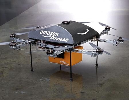 Amazon yeni projesi 'Prime Air'i tanıttı.