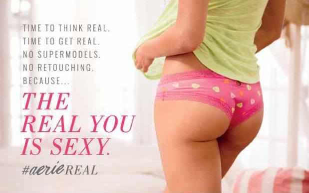 Aerie: 'Gerçek sen daha seksisin'