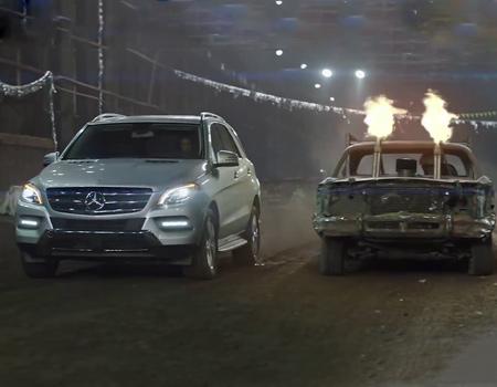 Mercedes yeni kampanyası ile her koşula hazırlıklı olduğunu vurguluyor.
