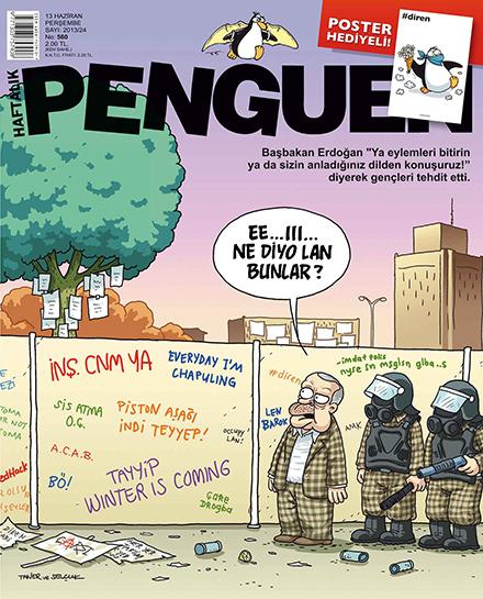 2013'ün en komik, en yaratıcı mizah dergisi kapakları