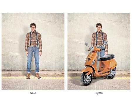 Ünlü motosiklet markası yeni ilanları ile sizi sıkıcı görünüşünüzden kurtarmayı vaat ediyor.