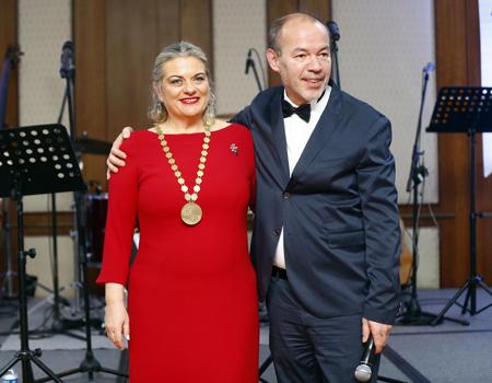 Zehra Güngör, IPRA'nın 50'inci başkanı oldu.