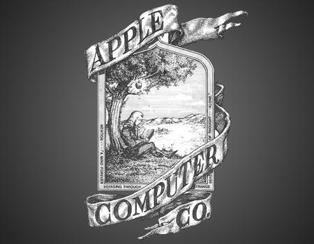 Apple'ın ilk logosu