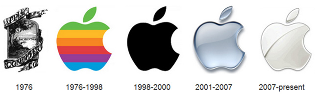 Apple'ın logo evrimi
