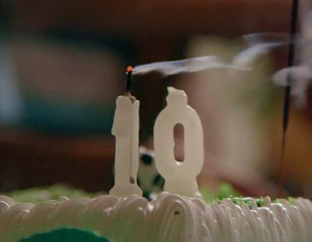 Facebook kuruluşunun 10'uncu yıl dönümünü özel bir reklam filmi ile kutluyor.