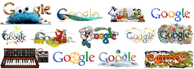 Google'ın doodle'ları