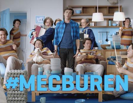 İş Bankası Anında Bankacılık'ın relansman kampanyası '#mecburen' yayında.