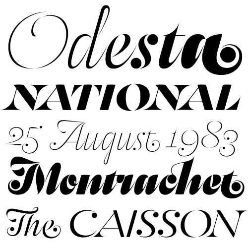 2013'ün en iyi fontları: Odesta