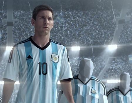 Adidas Messi'yle Rio'ya koşturuyor