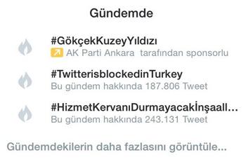 AK Parti'den yasağa rağmen devam eden Twitter kampanyası