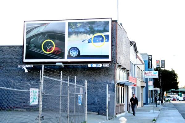 Direksiyon başında telefon kullanan sürücüleri utandıran billboard