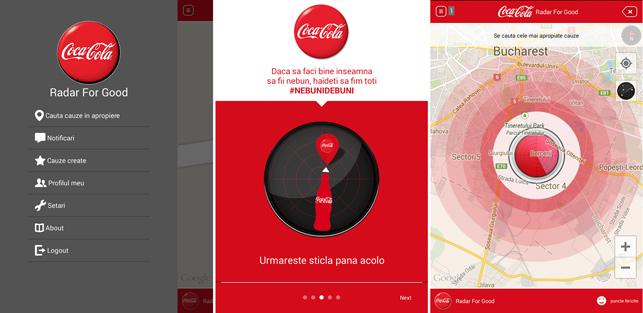 Coca-Cola'dan 'iyilik radarı'