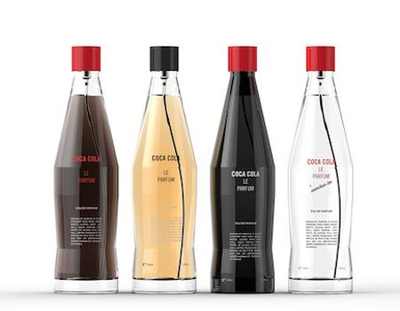 Coca-Cola'nın parfümü ortada yoksa da, şişelerin tasarımı hazır.