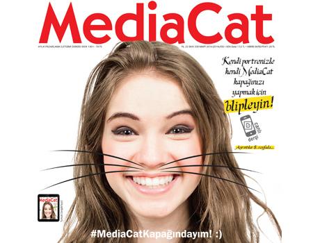 MediaCat, Mart 2014 sayısının kapağında sizi bir sürpriz bekliyor.