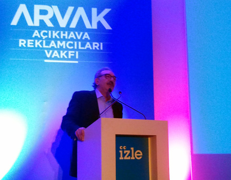 ARVAK, açıkhava erişim ve frekans araştırması İZLE'yi sundu.