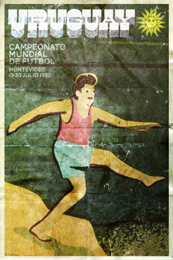 Fifa Dünya Kupası afişleri: 1930 Uruguay