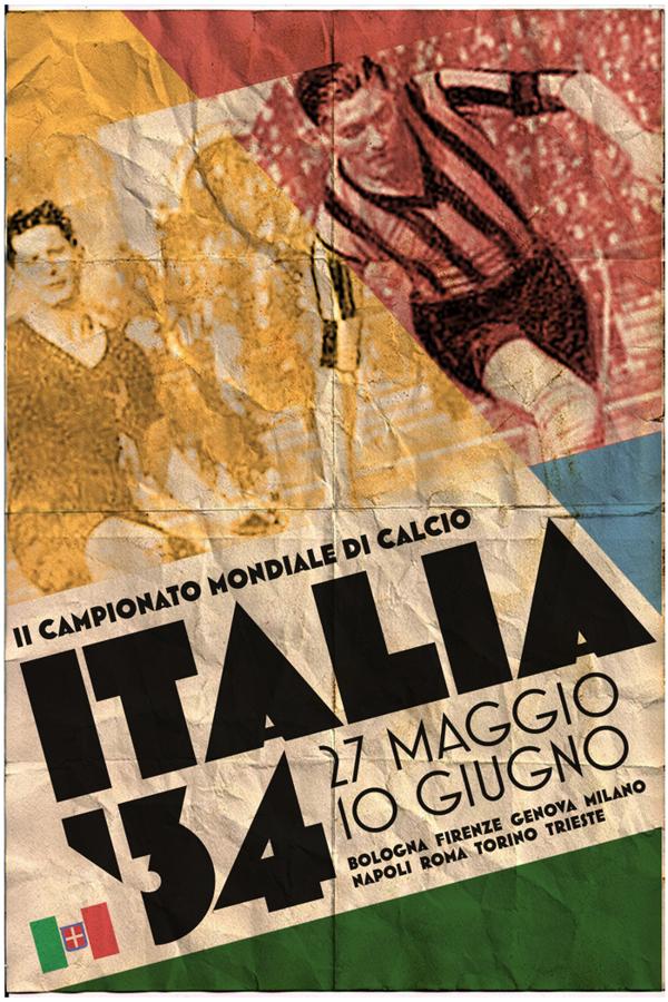 Fifa Dünya Kupası afişleri: 1934 İtalya