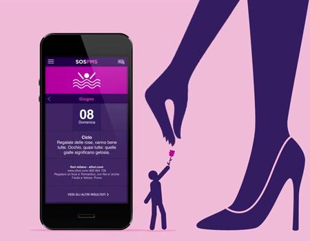 Sanofi'den premenstrüel sendrom takip uygulaması.