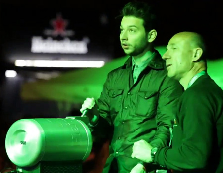 Heineken'den Milano Tasarım Haftası'nı 'tilt eden' uygulama
