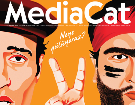 MediaCat, Nisan sayısında kime, neye, niye güldüğümüzü sorguladı.