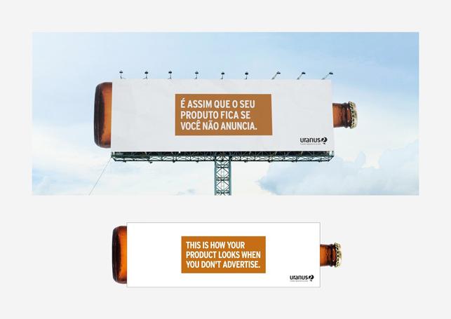 Reklam vermediğinizde ürününüz böyle görünür