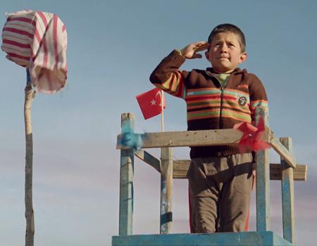 THY'nin yeni reklam filminin hikâyesi Iğdır'da geçiyor.