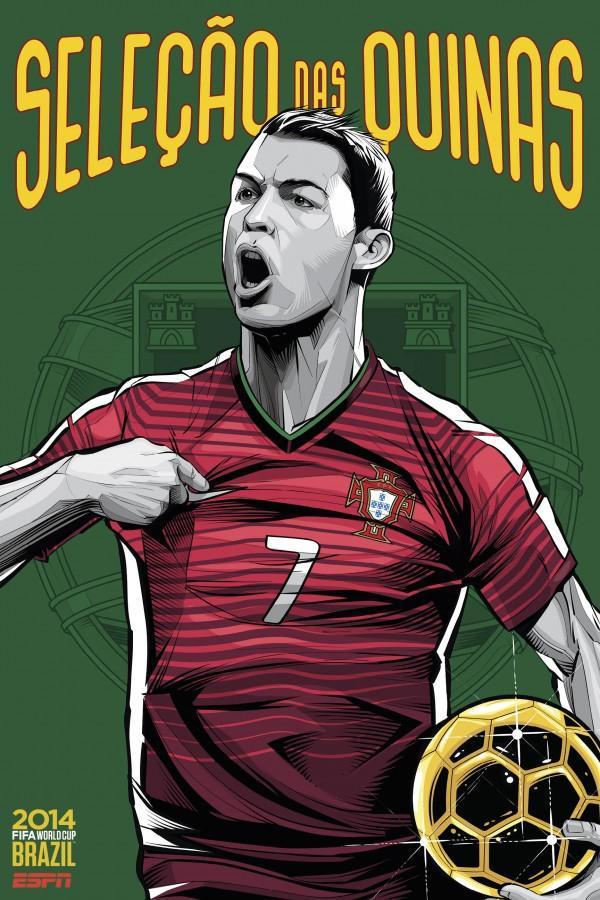 ESPN'den dünya kupası posterleri