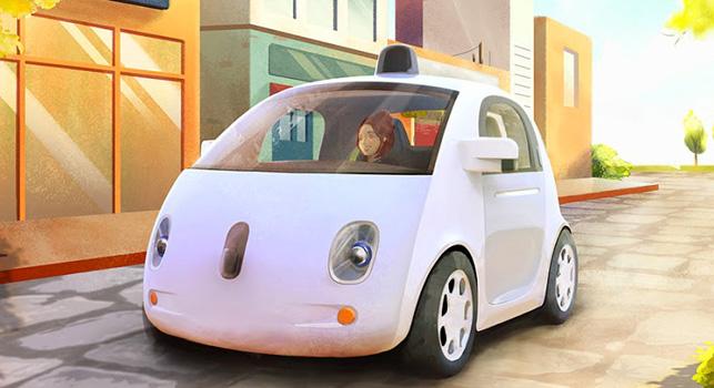 Google tamamen kendi tasarımı olan ilk sürücüsüz aracı tanıttı