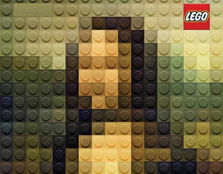 Lego'dan yaratıcı ilan serisi