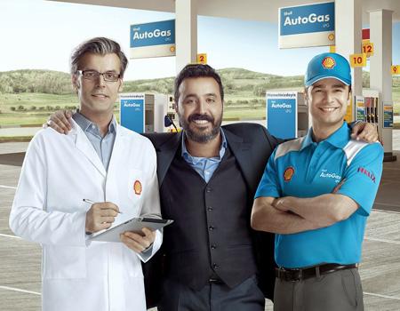 Mustafa Üstündağ'ın ilk reklamı Shell Autogas