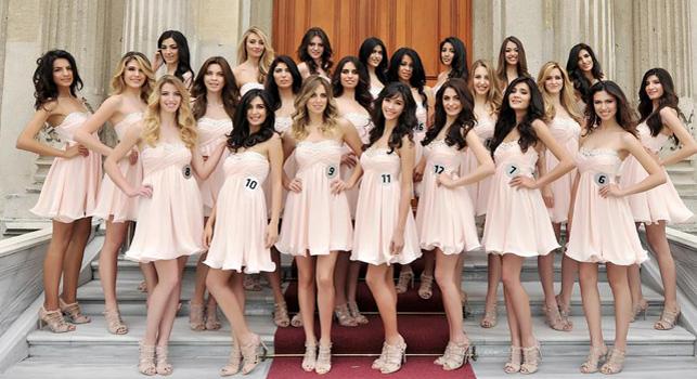 Miss Turkey 2014'ün Twitter yansımaları
