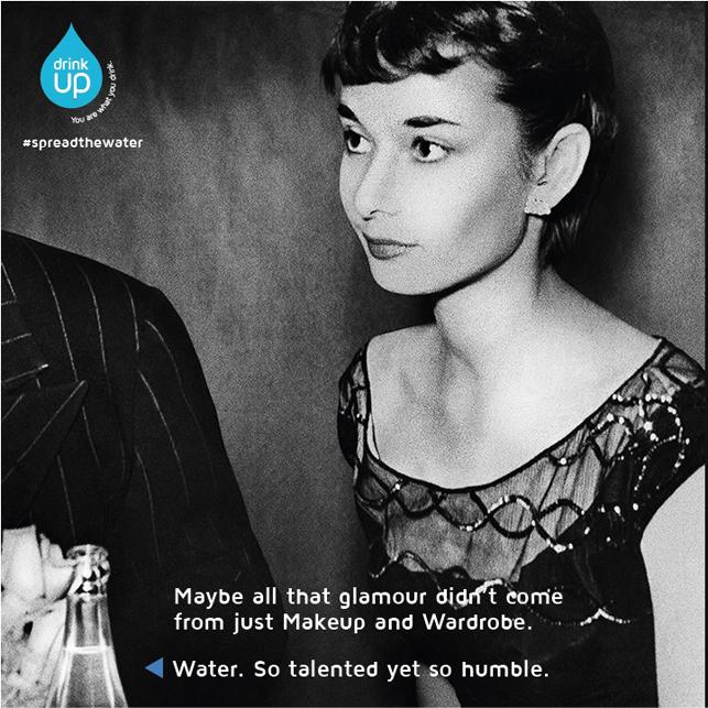 Su için, güzelleşin: Audrey Hepburn