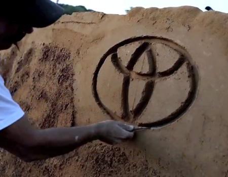 Toyota'dan doğadan gelip doğaya dönen billboard'lar