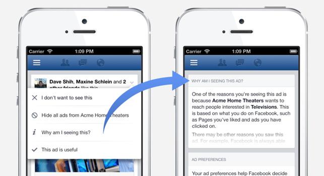 Facebook hedeflemeye kullanıcıların tarayıcı geçmişlerini dâhil ediyor