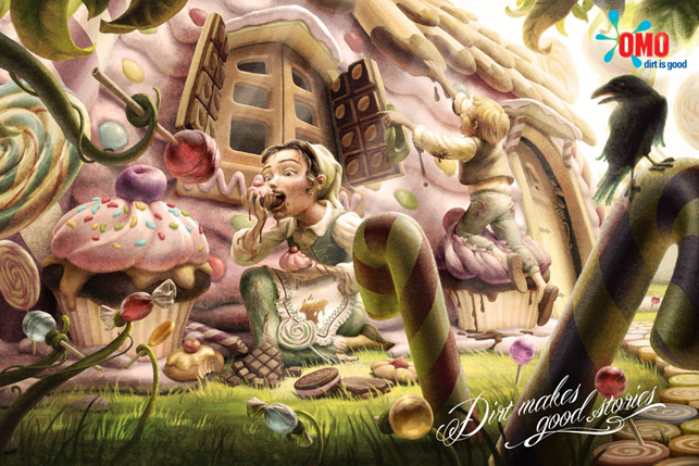 Hansel and Gretel, Alice in Wonderland ve Frog Prince, Omo, Lowe İstanbul