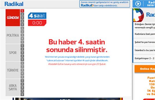 Fading News, Radikal Gazetesi, TBWA\Istanbul